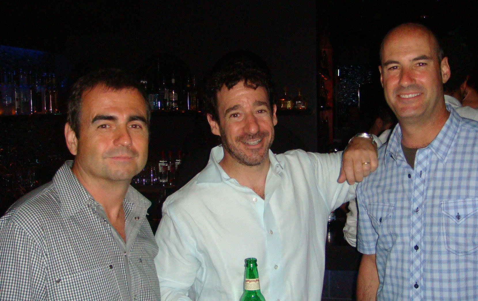 (Three of the four AWN Executive Committee Members pictured at the PEARL: Brian Hieggelke, Everett Finkelstein, Paul Curci)